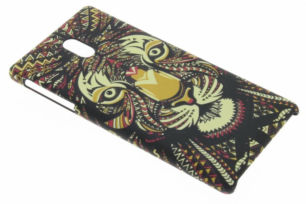 Tijger aztec animal design hardcase hoesje voor de Nokia 3