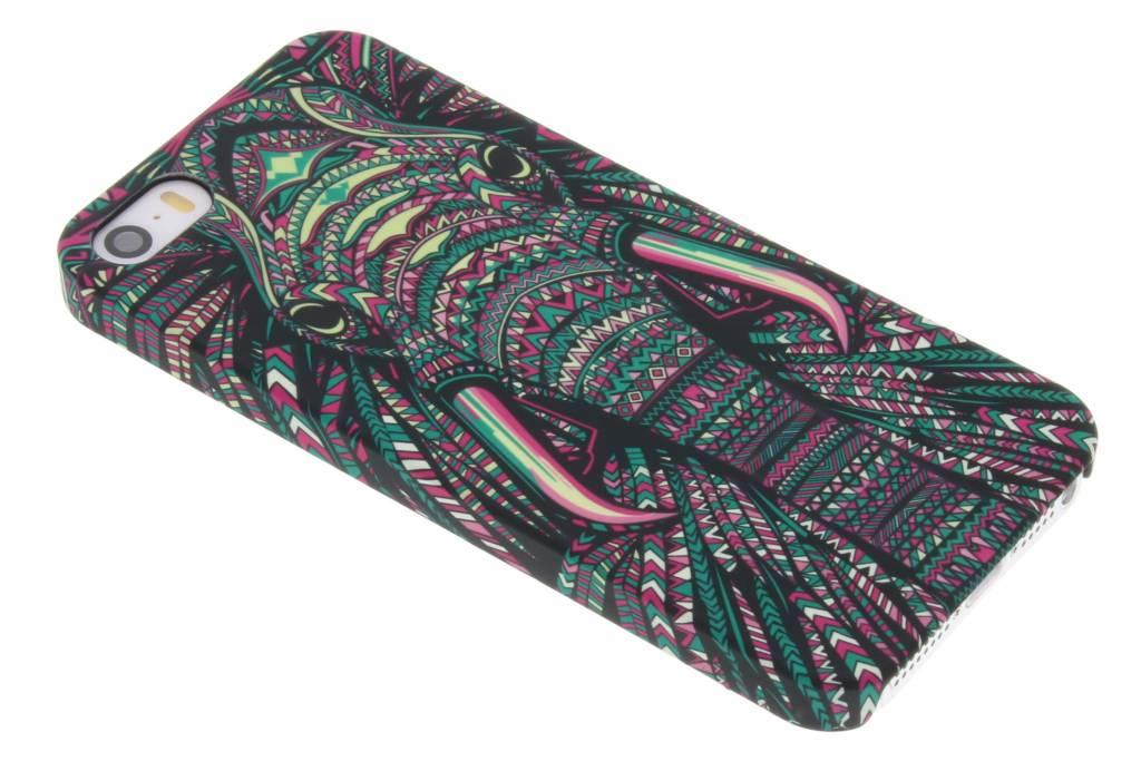 Olifant aztec animal design hardcase hoesje voor de iPhone 5 / 5s / SE