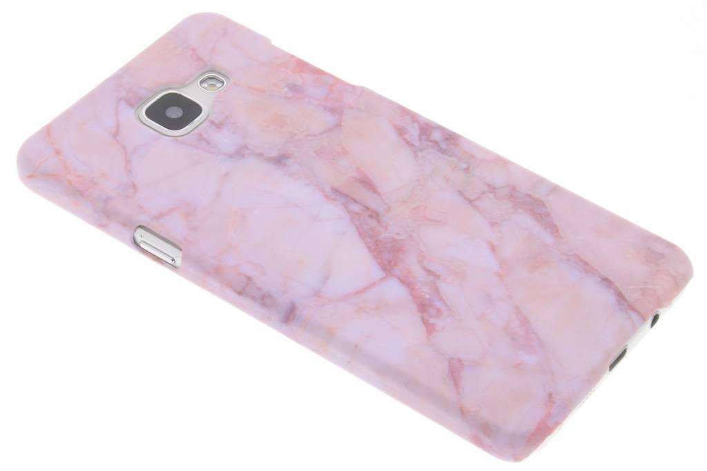 Roze marmer design hardcase hoesje voor de Samsung Galaxy A5 (2016)