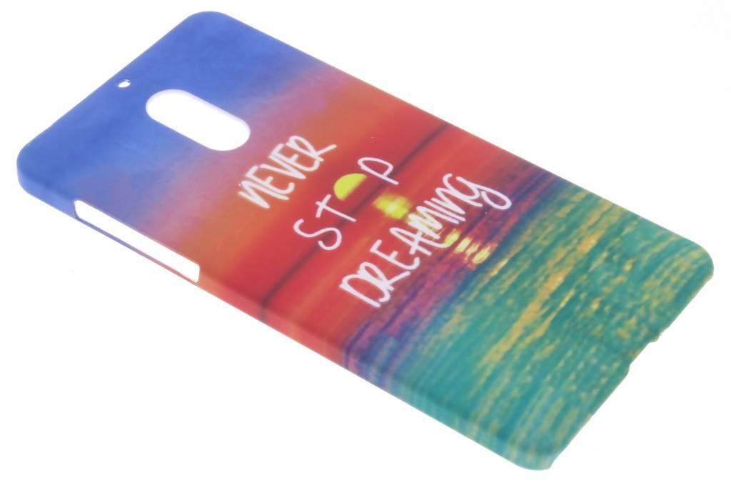 Never stop dreaming design hardcase hoesje voor de Nokia 6