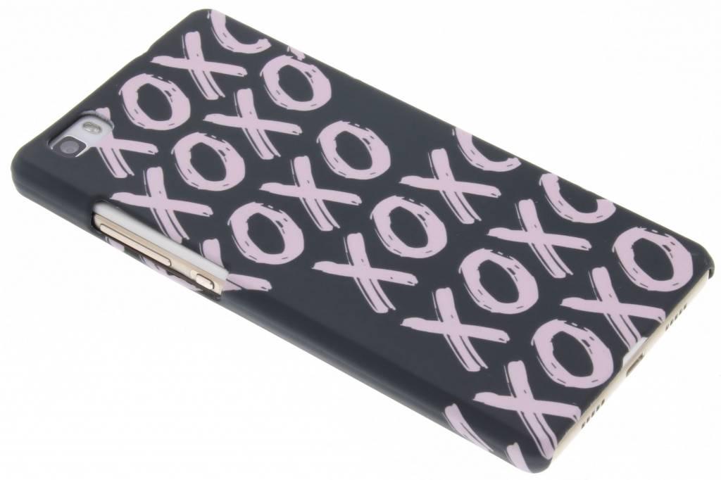 Xoxo design hardcase hoesje voor de Huawei P8 Lite
