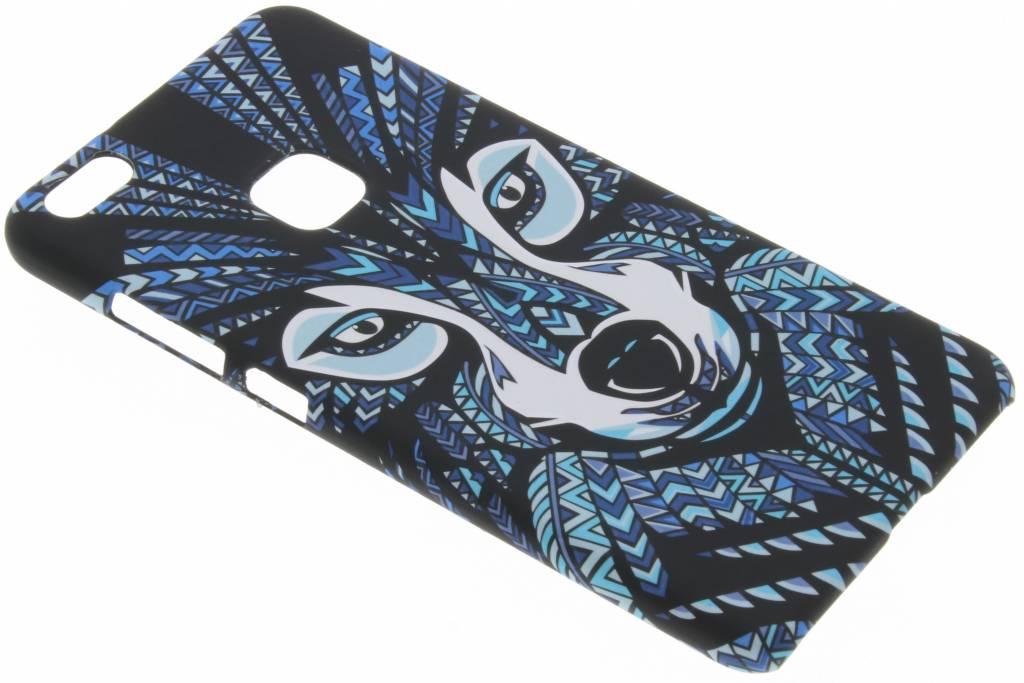 Wolf aztec animal design hardcase hoesje voor de Huawei P10 Lite