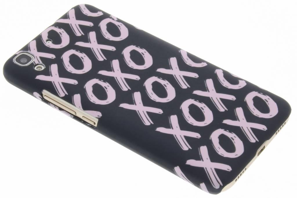 Xoxo design hardcase hoesje voor de Huawei Y6