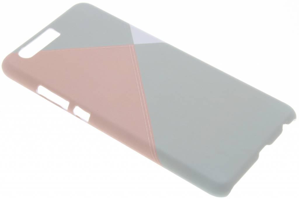 Pastelkleurig vlakken design hardcase hoesje voor de Huawei P10 Plus