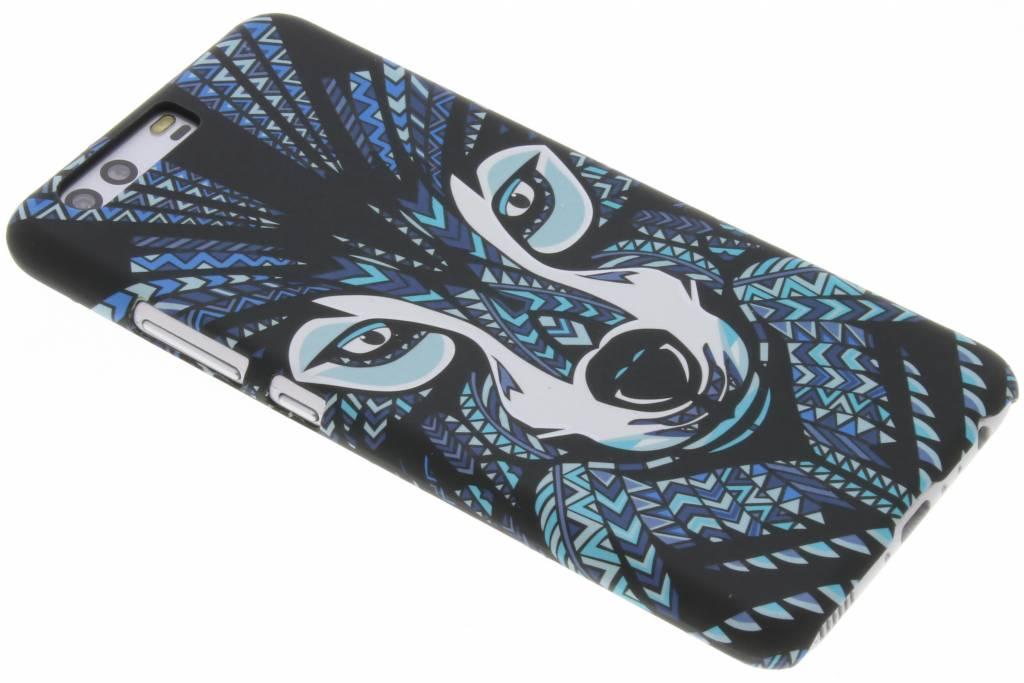 Wolf aztec animal design hardcase hoesje voor de Huawei P10