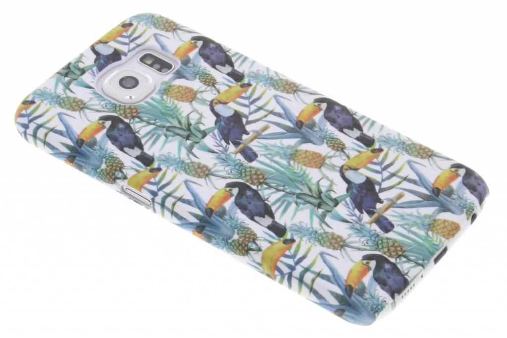 Toekan design hardcase hoesje voor de Samsung Galaxy S6