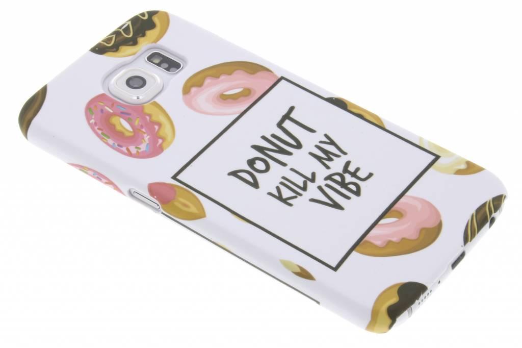 Donut design hardcase hoesje voor de Samsung Galaxy S6