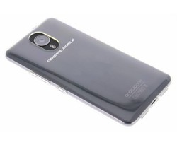 Transparant gel case General Mobile GM5 Plus