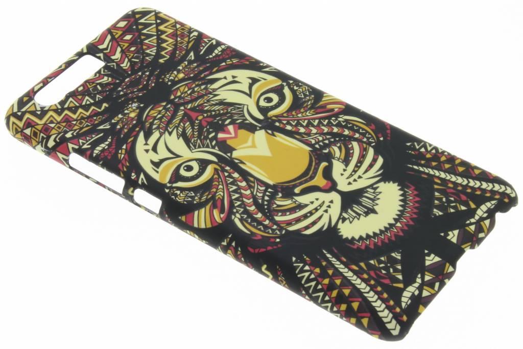 Tijger aztec animal design hardcase hoesje voor de Huawei P10 Plus