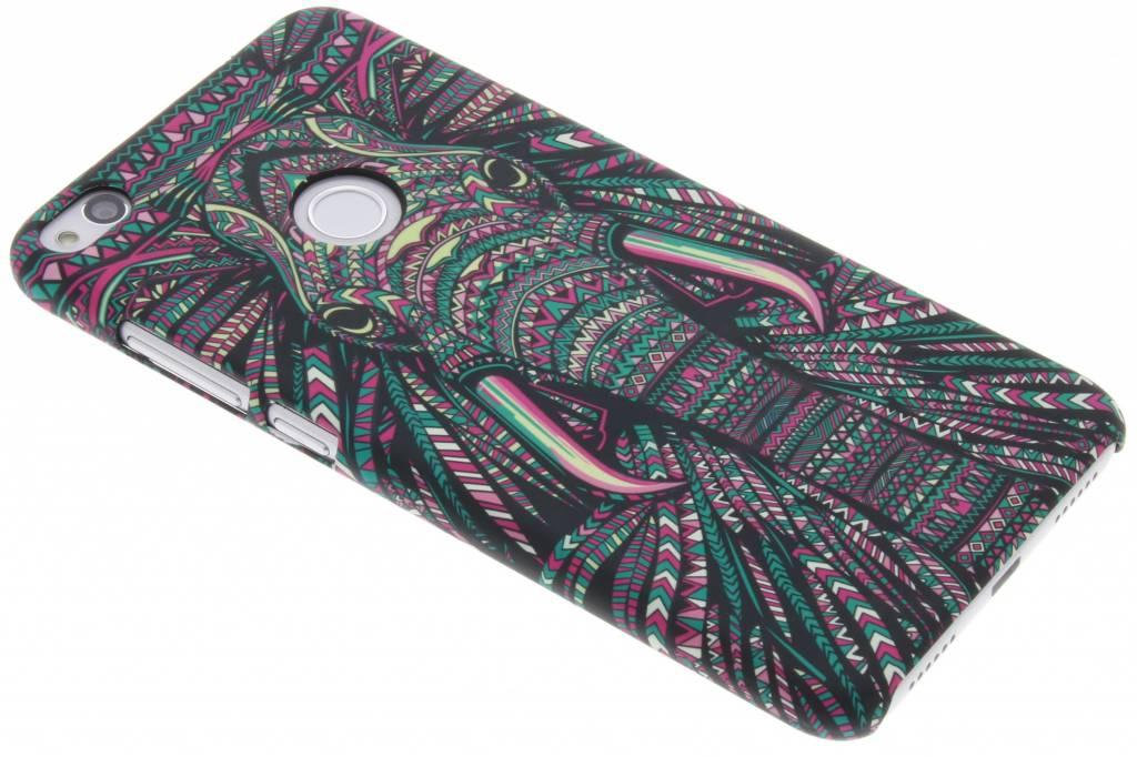 Olifant Aztec animal design hardcase hoesje voor de Huawei P8 Lite (2017)