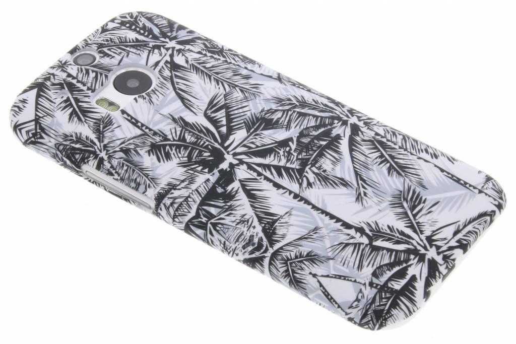 Palmtrees design hardcase hoesje voor de HTC M8 / M8s