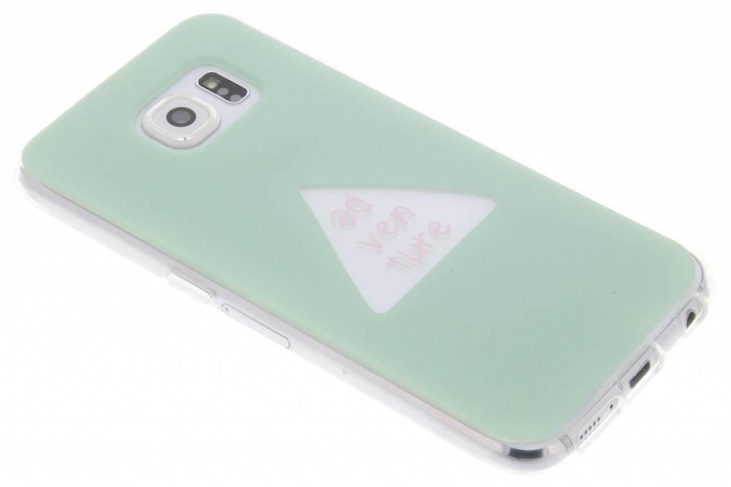 Quote design TPU hoesje voor de Samsung Galaxy S6