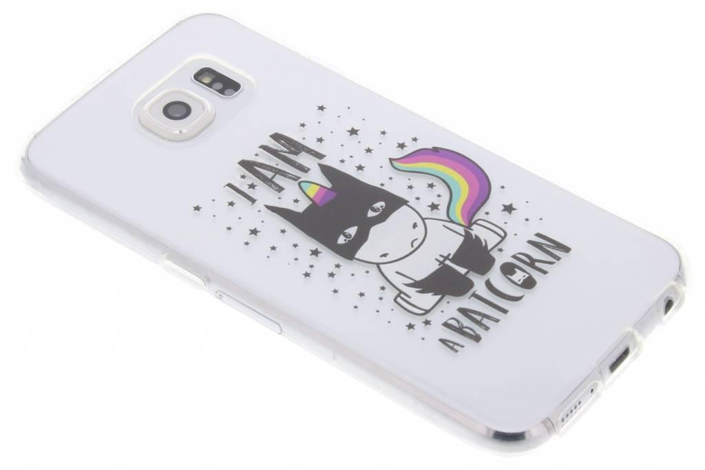 Unicorn design TPU hoesje voor de Samsung Galaxy S6