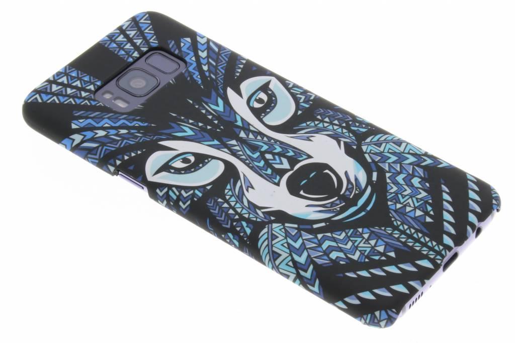 Wolf aztec animal design hardcase hoesje voor de Samsung Galaxy S8