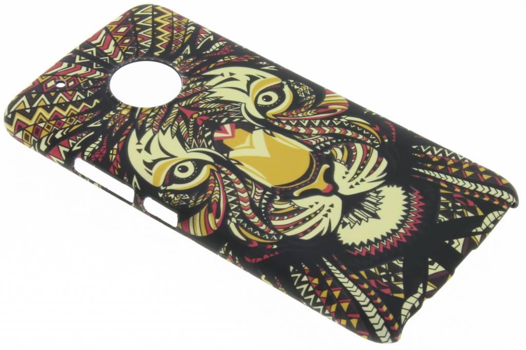 Tijger aztec animal design hardcase hoesje voor de Motorola Moto G5 Plus