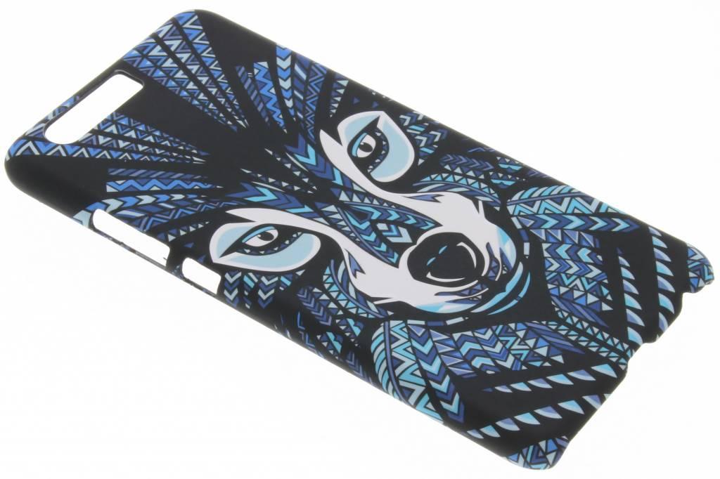 Wolf aztec animal design hardcase hoesje voor de Huawei P10 Plus