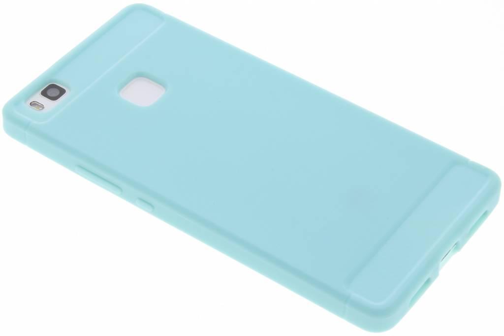 Turquoise Brushed TPU case voor de Huawei P9 Lite