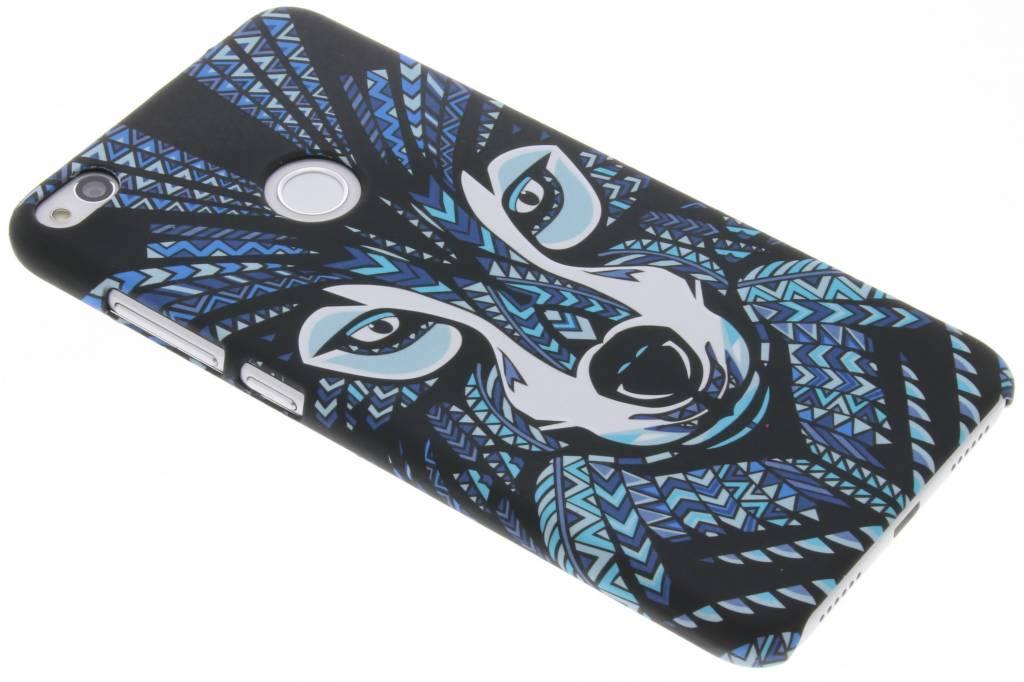 Wolf aztec animal design hardcase hoesje voor de Huawei P8 Lite (2017)