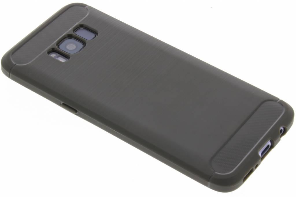 Grijze Brushed TPU case voor de Samsung Galaxy S8