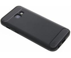 Zwart Brushed TPU case Samsung Galaxy A3 (2017)