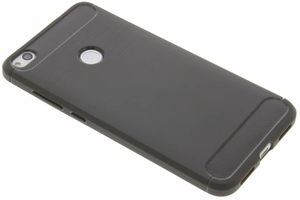 Grijze Brushed TPU case voor de Huawei P8 Lite (2017)