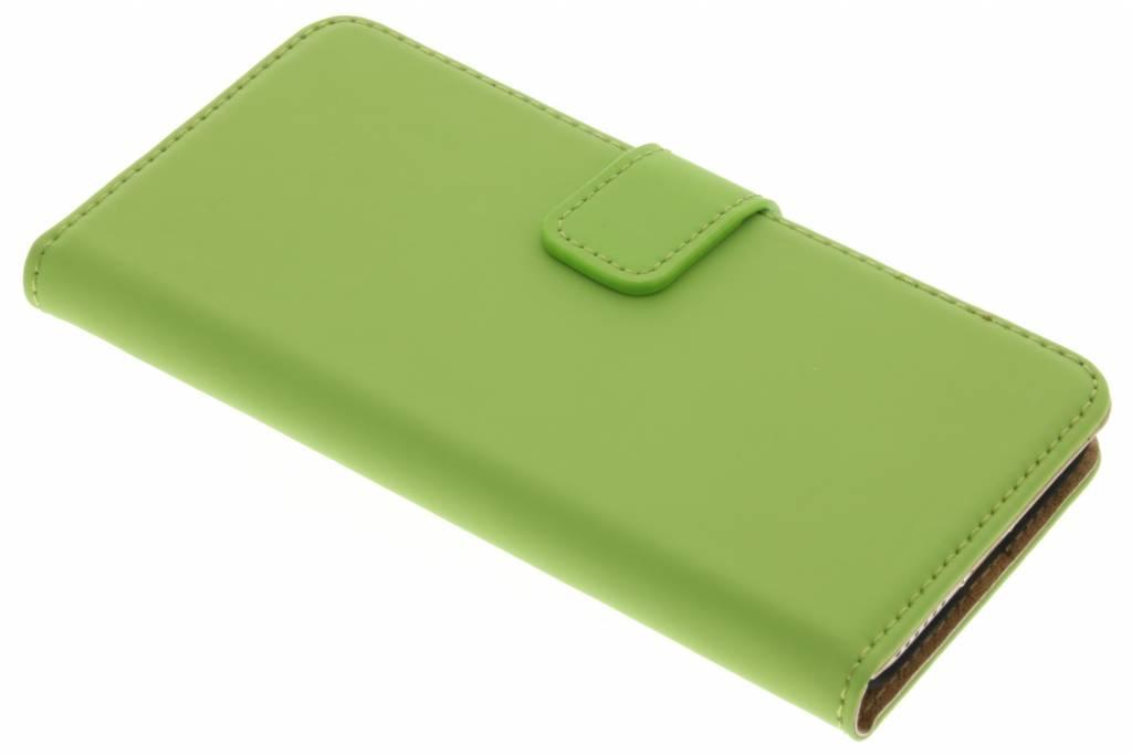 Selencia Luxe Book Case voor de iPhone 7 - Groen