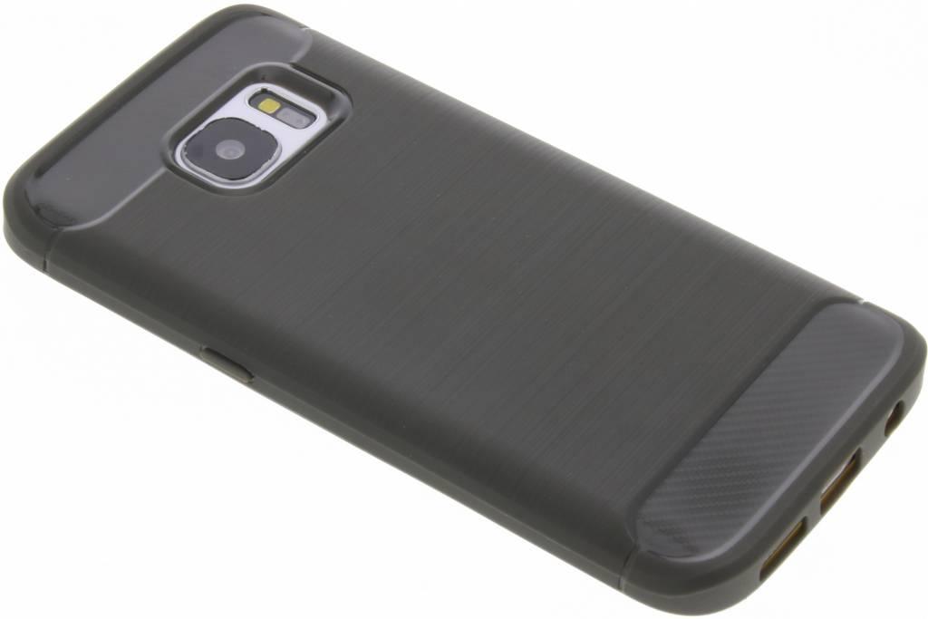 Grijze Brushed TPU case voor de Samsung Galaxy S7