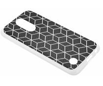 Cubes design TPU hoesje LG K10 (2017)