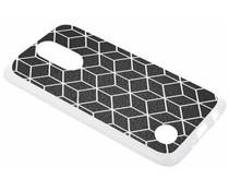 Cubes design TPU hoesje LG K8 (2017)