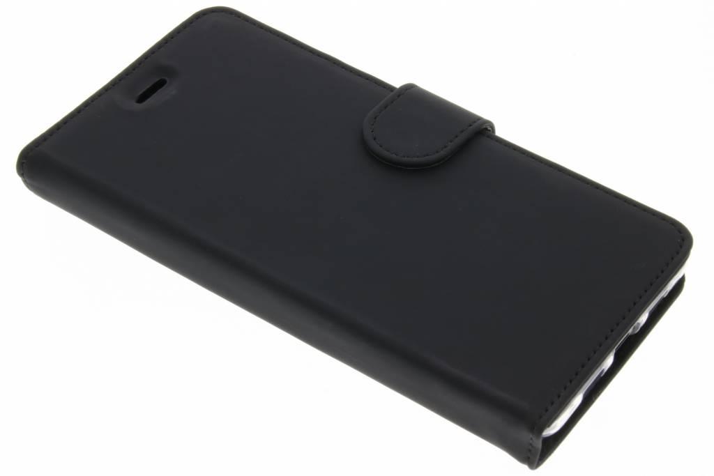 Accezz Zwarte Wallet TPU Booklet voor de Lenovo P2