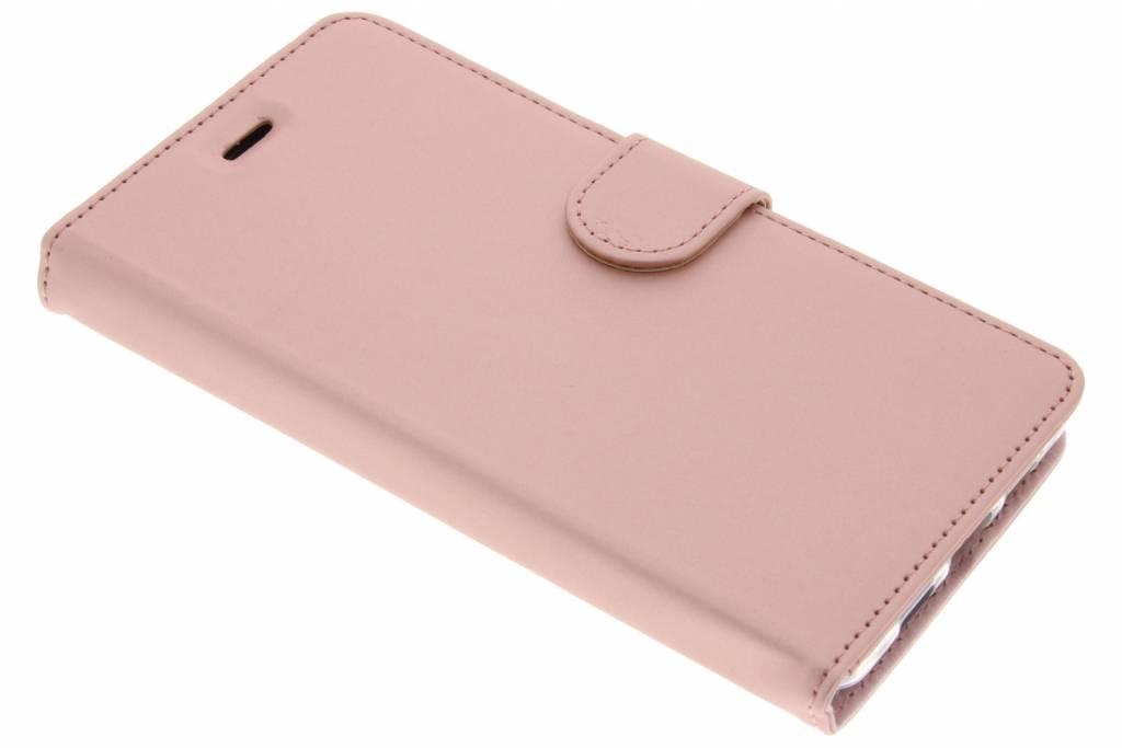Accezz Roze Wallet TPU Booklet voor de Lenovo P2
