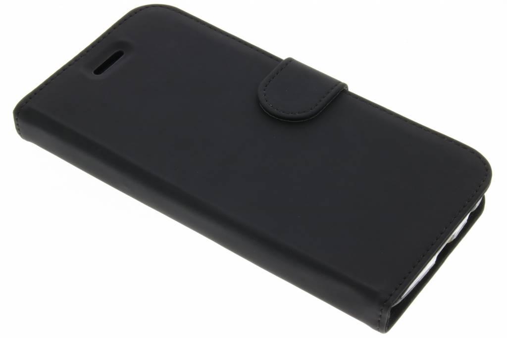 Accezz Zwarte Wallet TPU Booklet voor de Motorola Moto Z Play