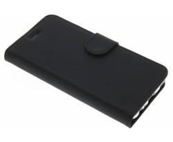 Accezz Zwart Wallet TPU Booklet Huawei P10