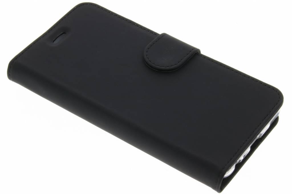 Accezz Zwarte Wallet TPU Booklet voor de Huawei P10