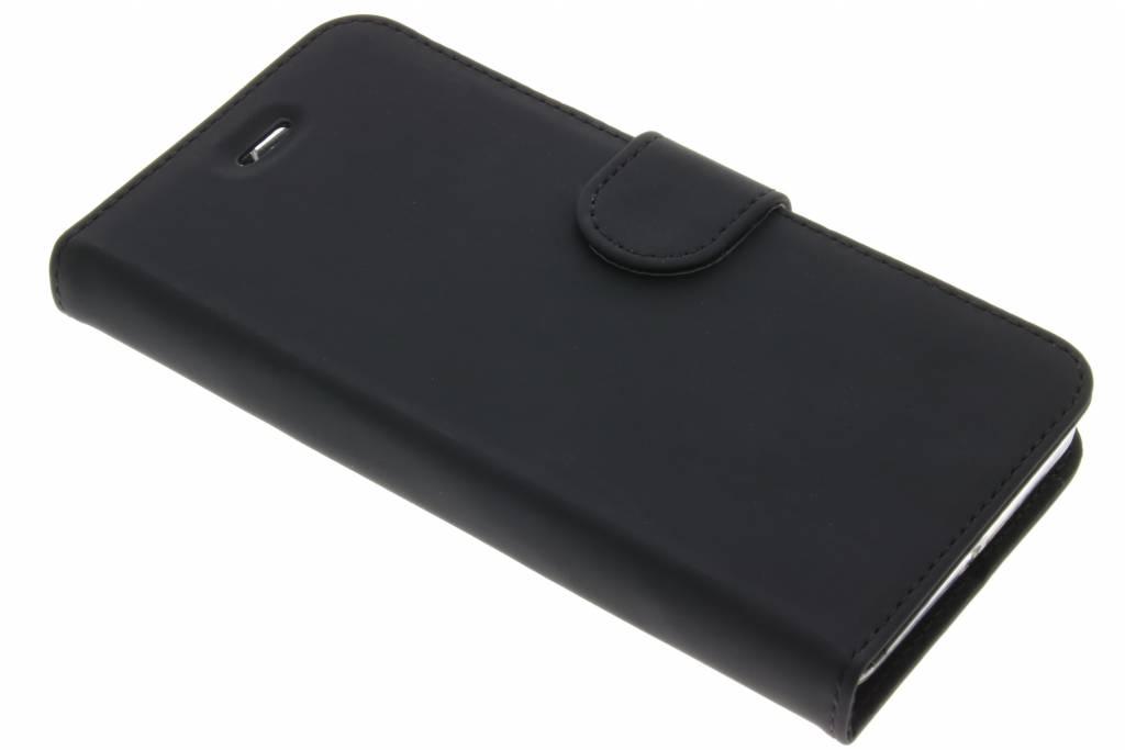 Accezz Zwarte Wallet TPU Booklet voor de Lenovo K6