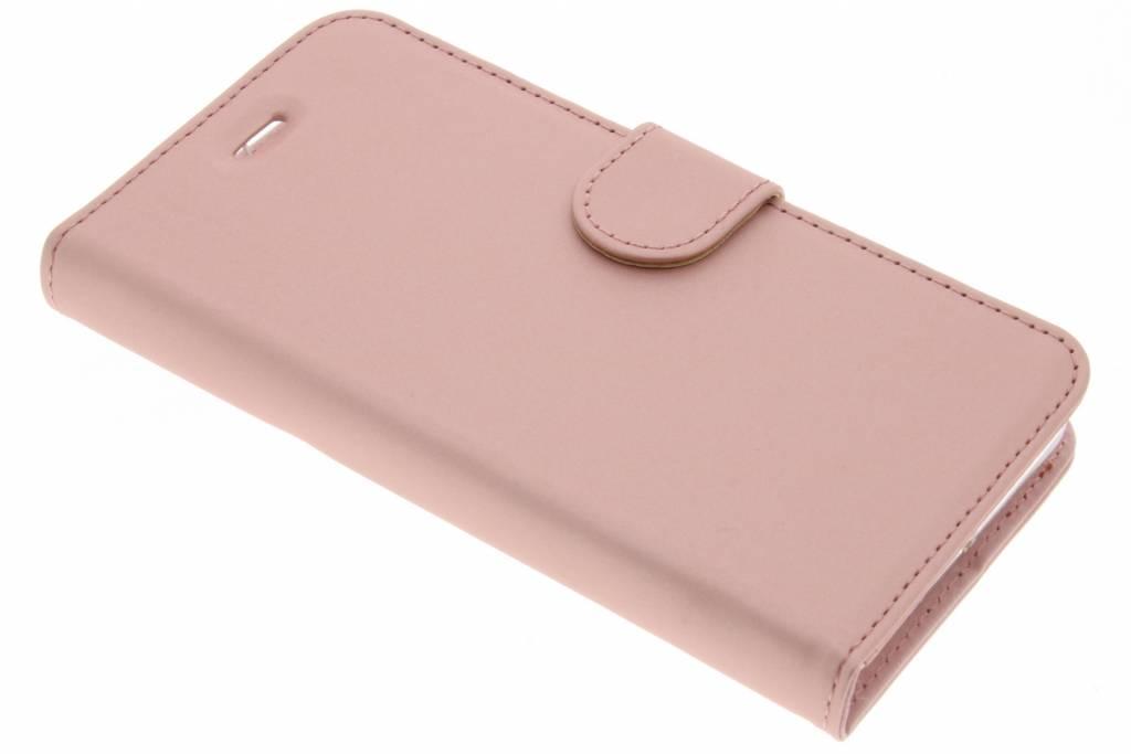 Accezz Roze Wallet TPU Booklet voor de Lenovo K6