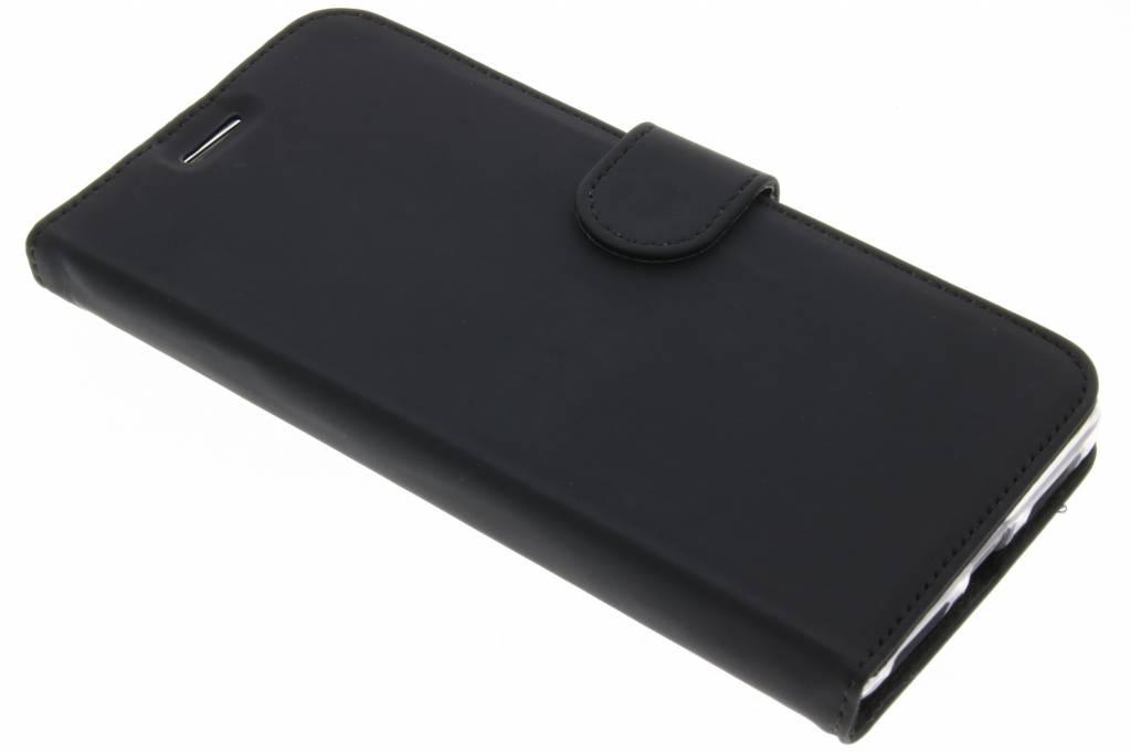 Accezz Zwarte Wallet TPU Booklet voor de Huawei Mate 9
