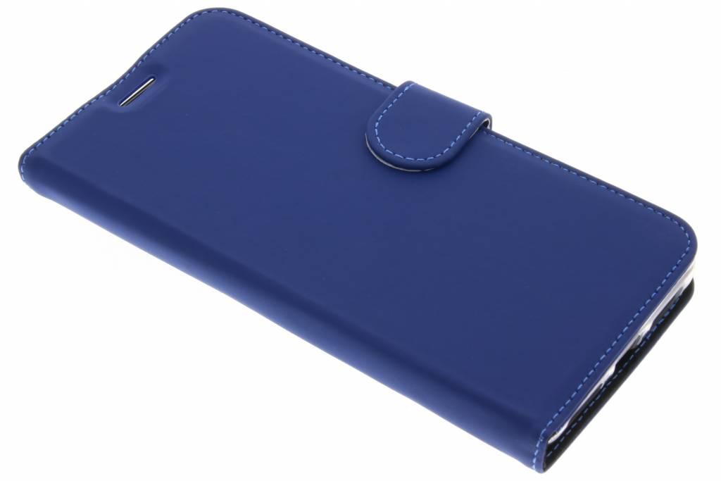 Accezz Blauwe Wallet TPU Booklet voor de Huawei Mate 9