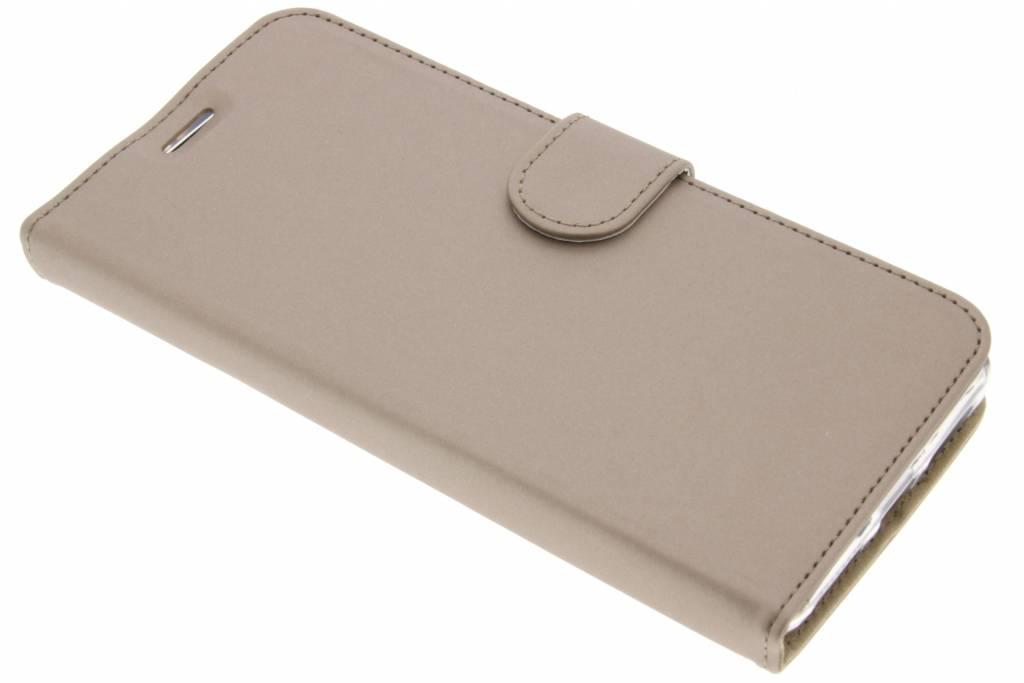 Accezz Gouden Wallet TPU Booklet voor de Huawei Mate 9