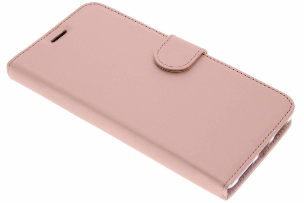 Accezz Roze Wallet TPU Booklet voor de Huawei Mate 9