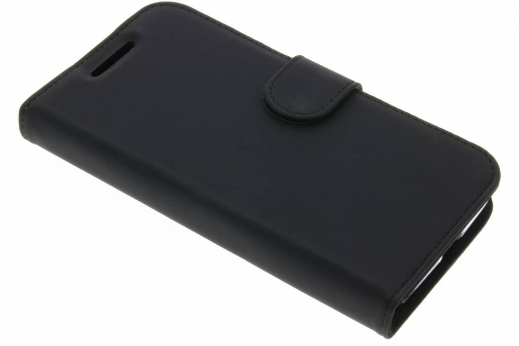 Accezz Zwarte Wallet TPU Booklet voor de Motorola Moto G4 Play