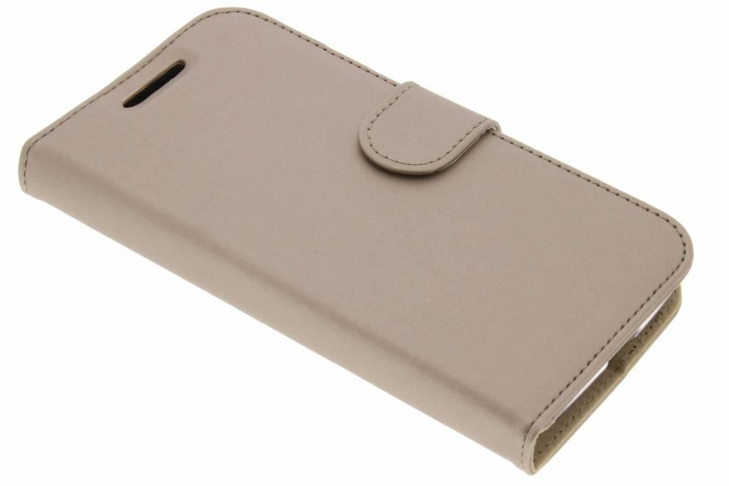 Accezz Gouden Wallet TPU Booklet voor de Motorola Moto G4 Play
