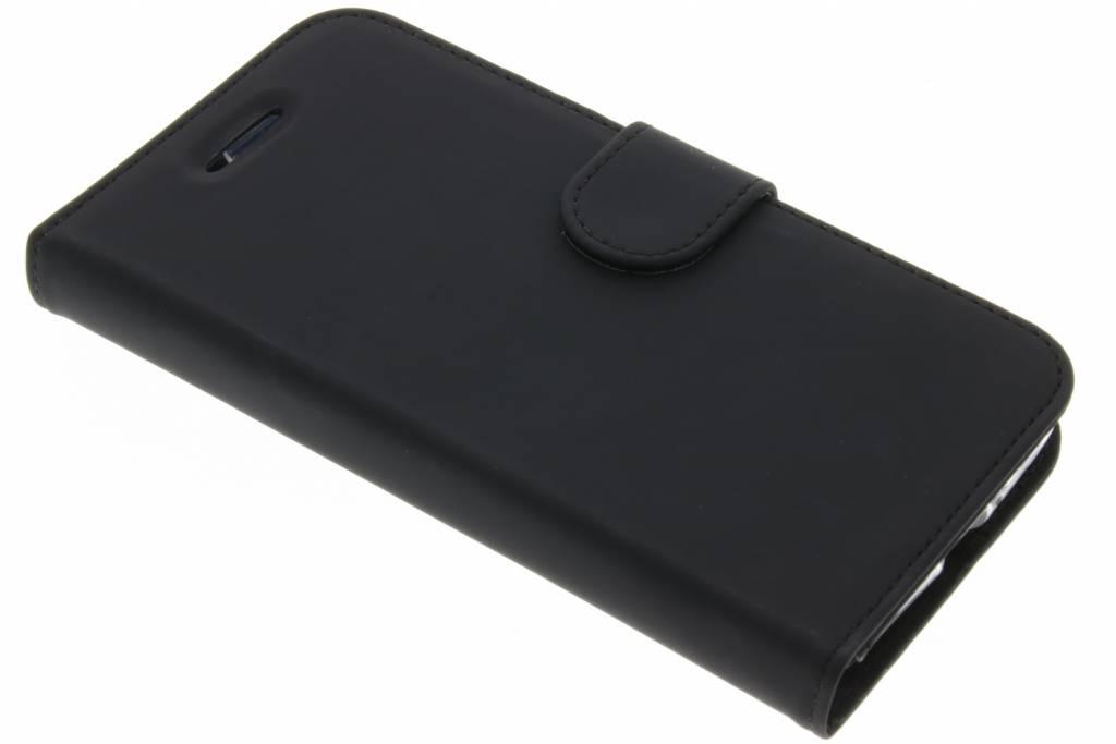 Accezz Zwarte Wallet TPU Booklet voor de Lenovo C2 Power