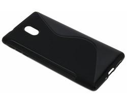 Zwart S-line TPU hoesje Nokia 3