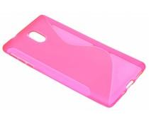 Roze S-line TPU hoesje Nokia 3