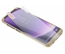 Goud 360° effen protect case Samsung Galaxy S8