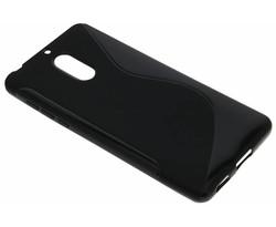 Zwart S-Line TPU hoesje Nokia 6