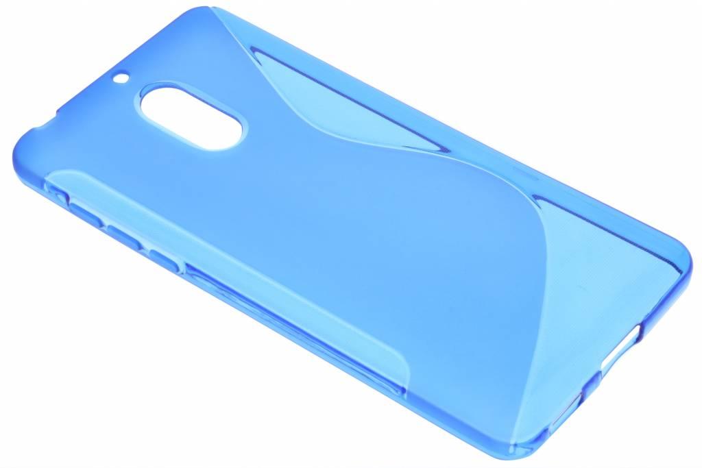 Blauw S-Line TPU hoesje voor de Nokia 6