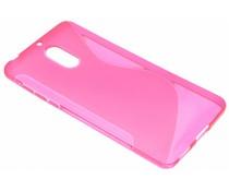 Roze S-Line TPU hoesje Nokia 6