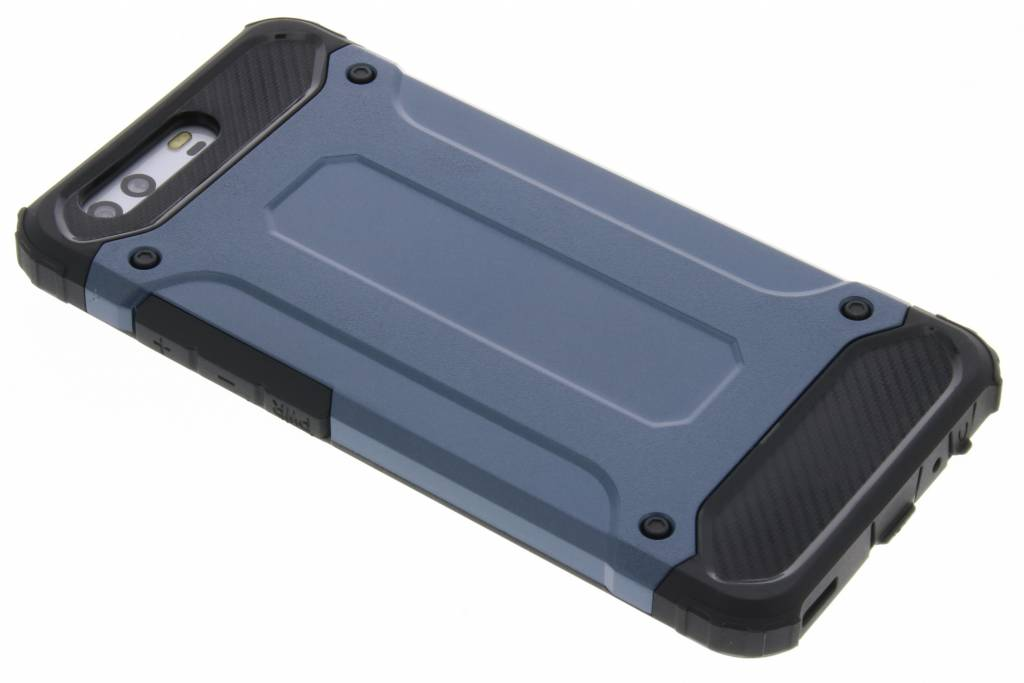Blauwe Rugged Xtreme Case voor de Huawei P10
